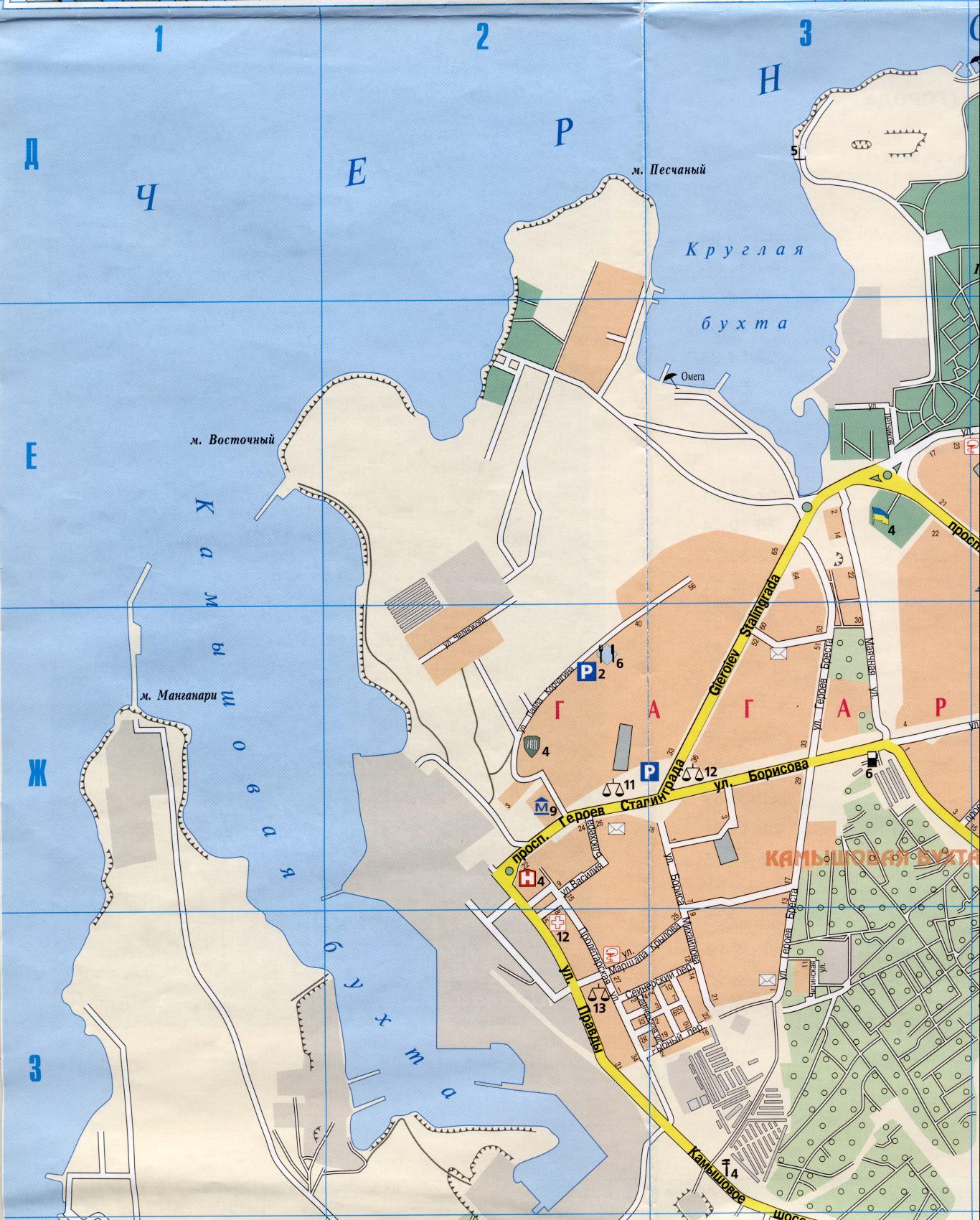 Большая карта Севастополя. Подробная карта улиц ...: http://sebastopol.su/map117581_1_0.htm