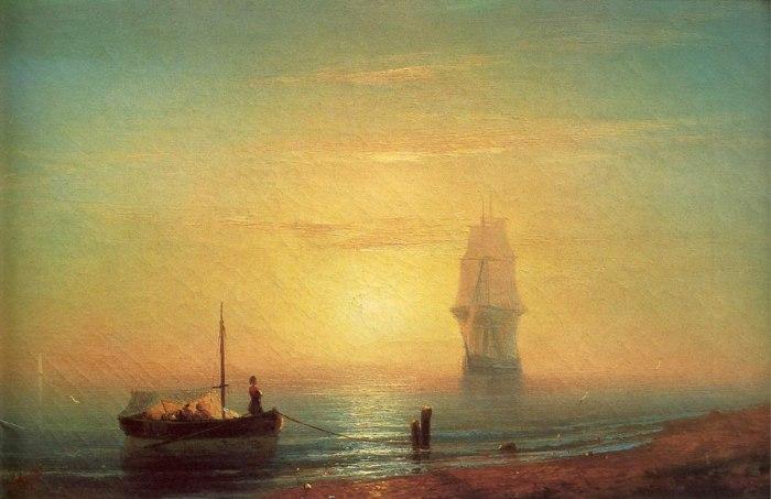 Художник Юрий Ковалев Красивые картины моря